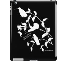 White long-billed starthroat  iPad Case/Skin