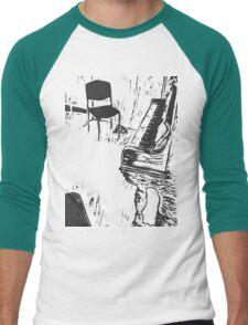 The Music's Playing but Nobody's Listening  - t-shirt Men's Baseball ¾ T-Shirt
