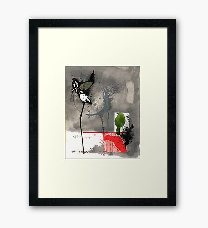 naiad and a day Framed Print