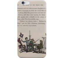 The Queen of Pirate Isle Bret Harte, Edmund Evans, Kate Greenaway 1886 0020 Fight iPhone Case/Skin