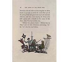The Queen of Pirate Isle Bret Harte, Edmund Evans, Kate Greenaway 1886 0020 Fight Photographic Print
