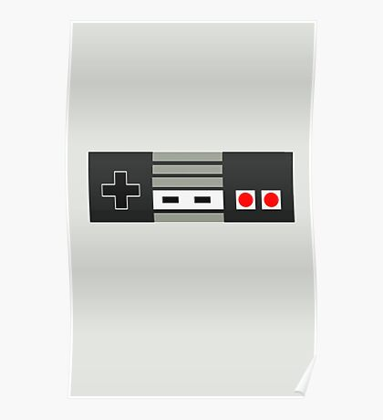 Retro Controller Poster