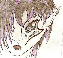 Goth Fairy by Viqqe