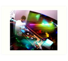 Lights - In the DJ Booth Art Print