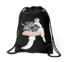 Fae and Friend Drawstring Bag
