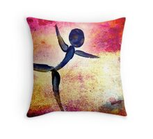 Dance Like You Are Flying... Throw Pillow