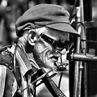 Sing us a song Busker Man by RavenMunro