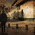 Walking on the Old City by Maria  Gonzalez
