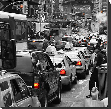 NYC Standstill by Heath Morrison