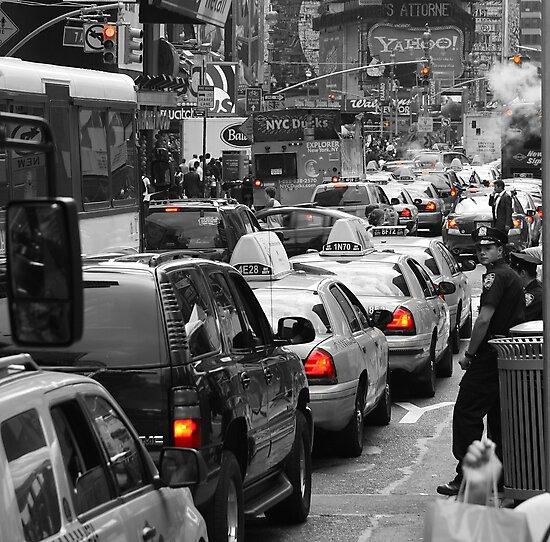NYC Standstill by Heath Morrison