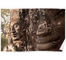 The Bayon 4 - Siem Reap Poster