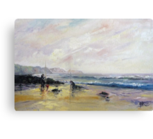 Early Morning Catch Canvas Print