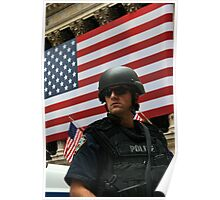 NYPD Wall St Poster