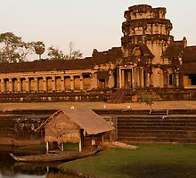 Angkor Wat at Sunset by fab2can