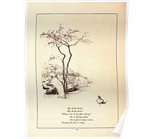 Rose Buds Virginia Gerson 1885 0022 My Dicky Bird Poster