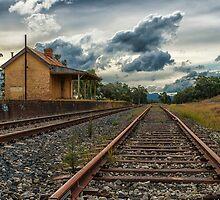 Ben Bullen Railway Station by Steve Randall