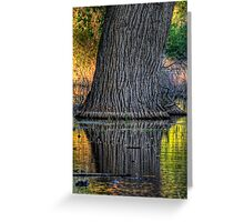 Tree Sheen Greeting Card