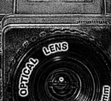 Holga plastic camera 120 Sticker