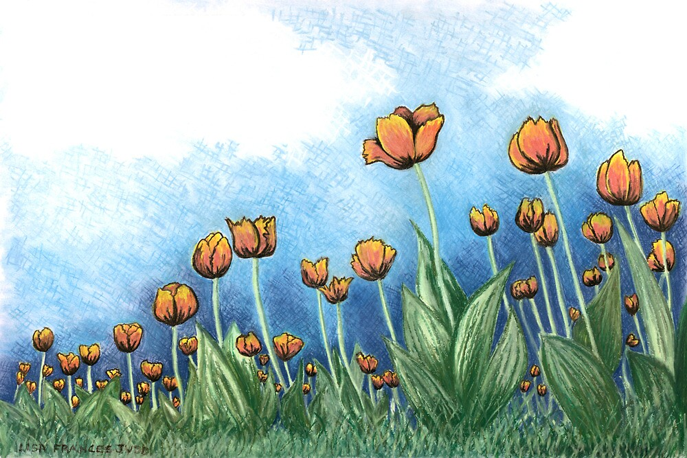 Tulips by Lisafrancesjudd
