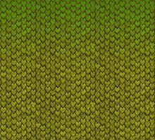 Dragon Scales (Green) by RevImhotep