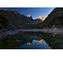 Last Light At Lake MacKenzie Photographic Print