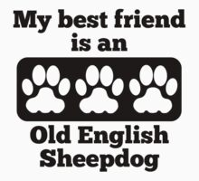 My Best Friend Is An Old English Sheepdog T-Shirt