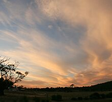 Sunset - Black Range, Stawell by dulkeith