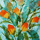 Spring tulips by © Pauline Wherrell