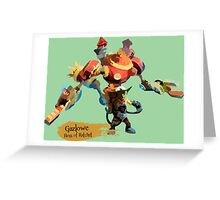 Boss of Ratchet Greeting Card