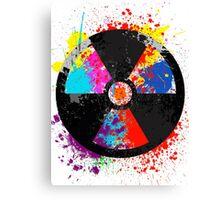 Color Radiation Canvas Print