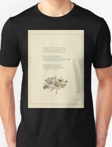 Marigold Garden Pictures and Rhymes Kate Grenaway 1900 0019 The Four Princesses T-Shirt