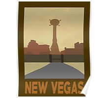 Retro New Vegas Poster