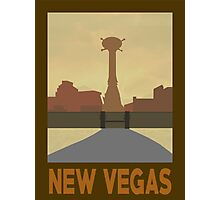 Retro New Vegas Photographic Print