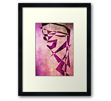 Thief of Hearts - Abstract Vector Art Framed Print