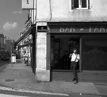 Cutting A Corner - Nancy, France by Eric Strijbos