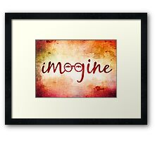 Imagine - John Lennon Tribute Artwork Hardcover Journal Posters Mugs Framed Print