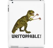 Tyrannosaurus Rex with Grabbers is UnStoppable iPad Case/Skin