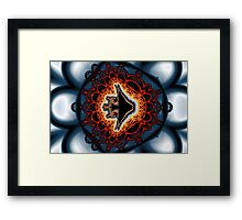 Mandelfish No. 3 Framed Print