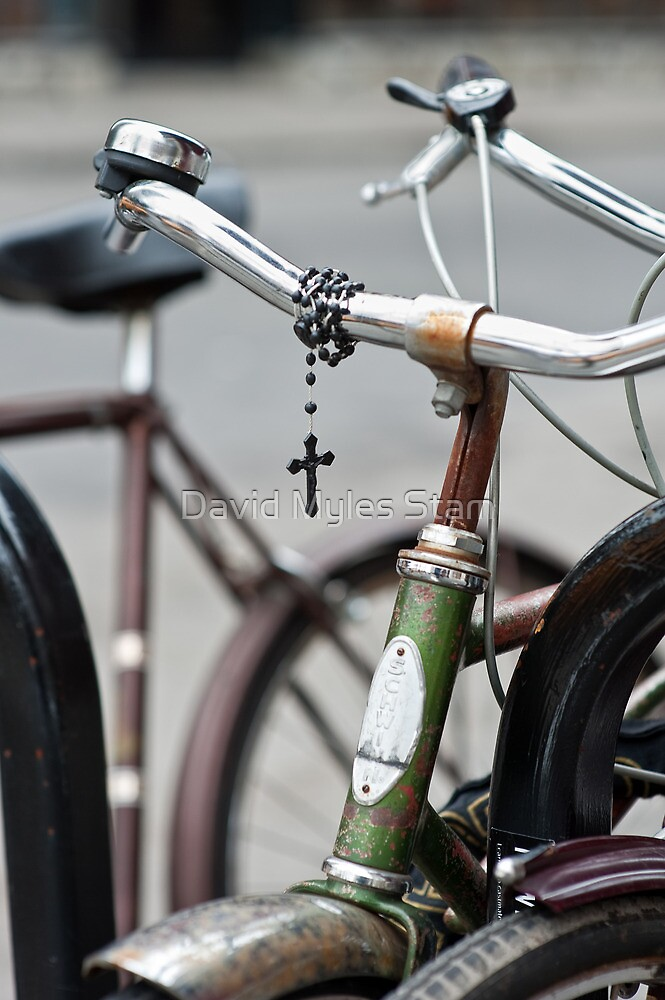 Holy Bicycle by David Myles Stam