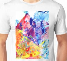 Red Meets Blue Unisex T-Shirt
