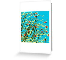 Underwater scene Greeting Card