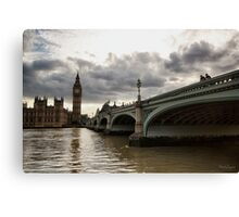 London Times Canvas Print