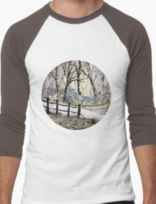 'Snow whites Wood - Teatime' Men's Baseball ¾ T-Shirt