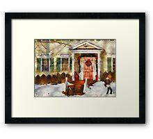 Christmas - Can't wait till Christmas Framed Print