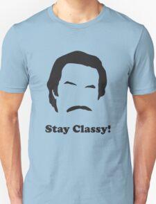 Ron Burgundy - Stay Classy Unisex T-Shirt