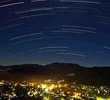 Bright Trails by Tai Chau