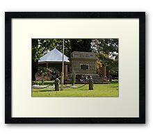 Maldon  Cenotaph Framed Print