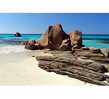 The Beach rocks Photographic Print