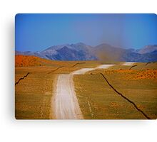 dust devil in Namibia Canvas Print