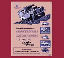 Classic Land Rover Advert! Long Sleeve T-Shirt
